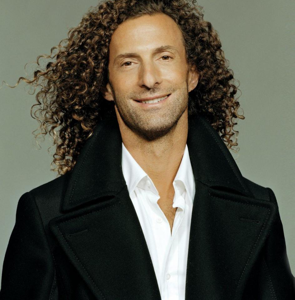 Kenny G has the perfect long-length curly hair. The perfect curly long hair may at times be difficult to get, but is great when achieved. This would require a lot of practice and a perfect hair stylist to go to, but it is the type of product used that will make this hair shine or look bland.