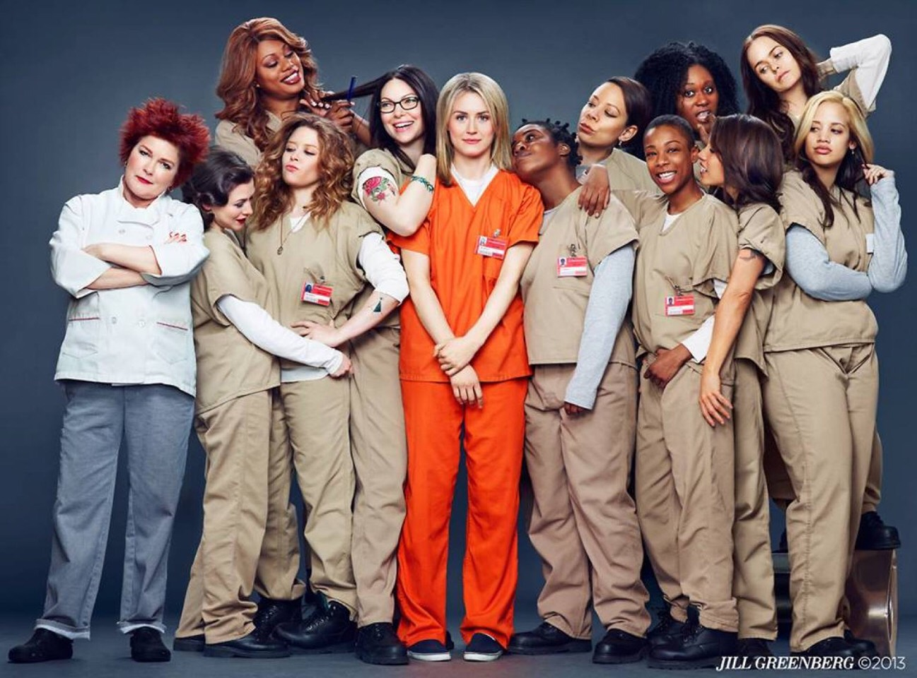 Orange is the new black 😋😋😋 (contains a lot of nudity)
