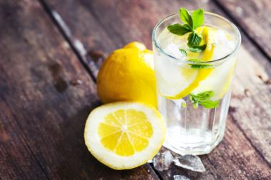 Lemon water is great for losing fat and so does green tea.