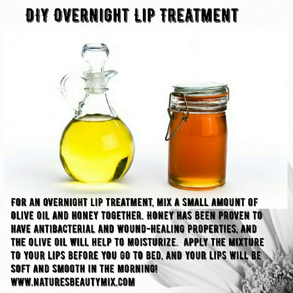 Do it yourself lip treatment for dry lips