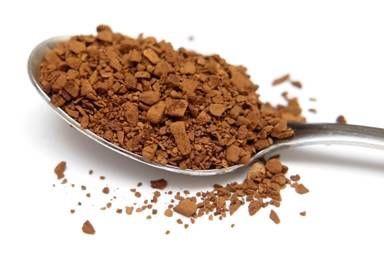 4 teaspoons of instant coffee