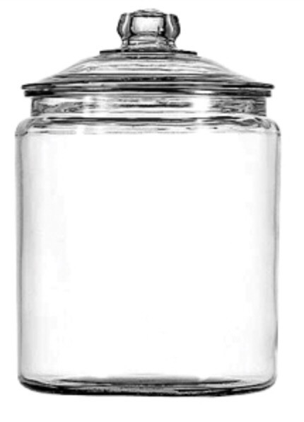 First get a glass jar with no writing on it and a nice lid. This is going to be the size of your light