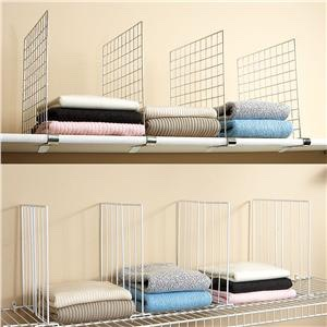 8. Keep folded clothes or accessories neat with shelf dividers, like these from Penney's/ Primark