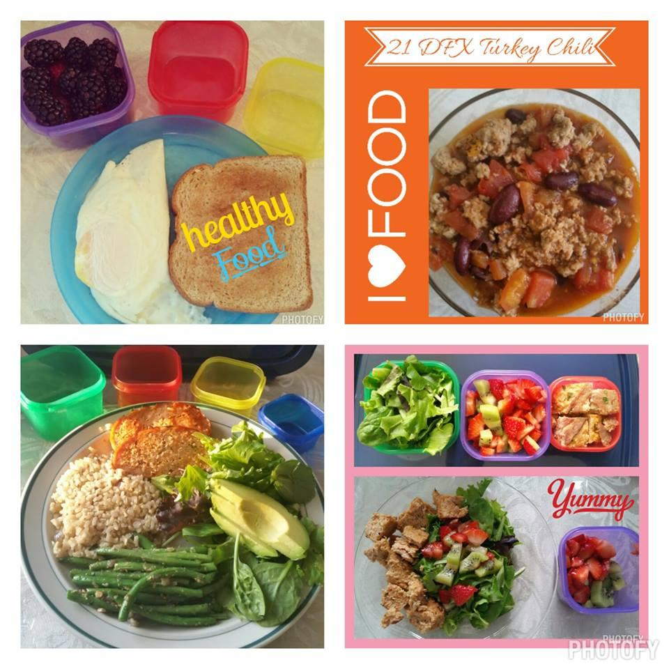 My meals in a day with the 21 day fix. beachbodycoach.com/adawy