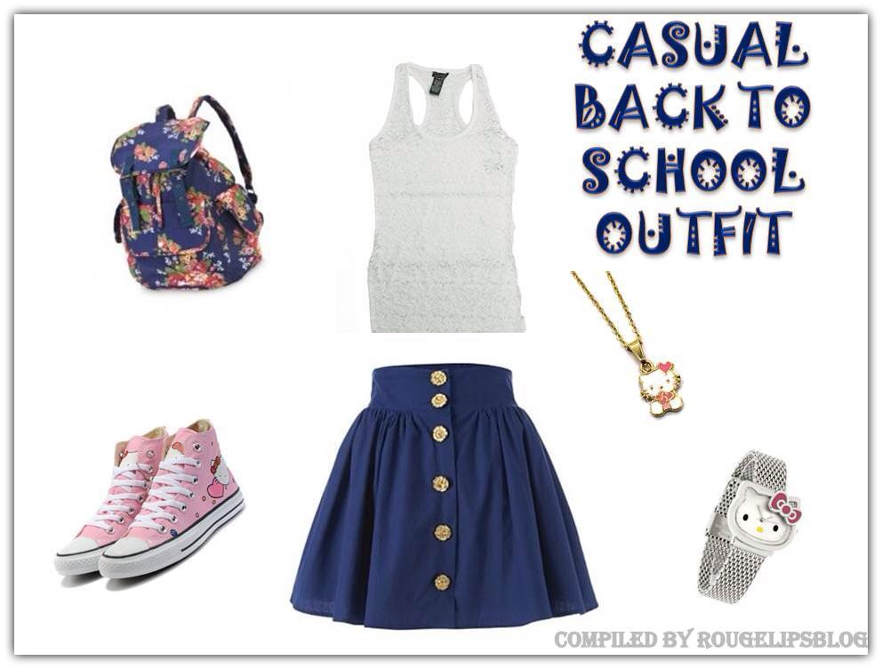 8834363f67 Back To School Outfits! by Sydne Grace - Musely