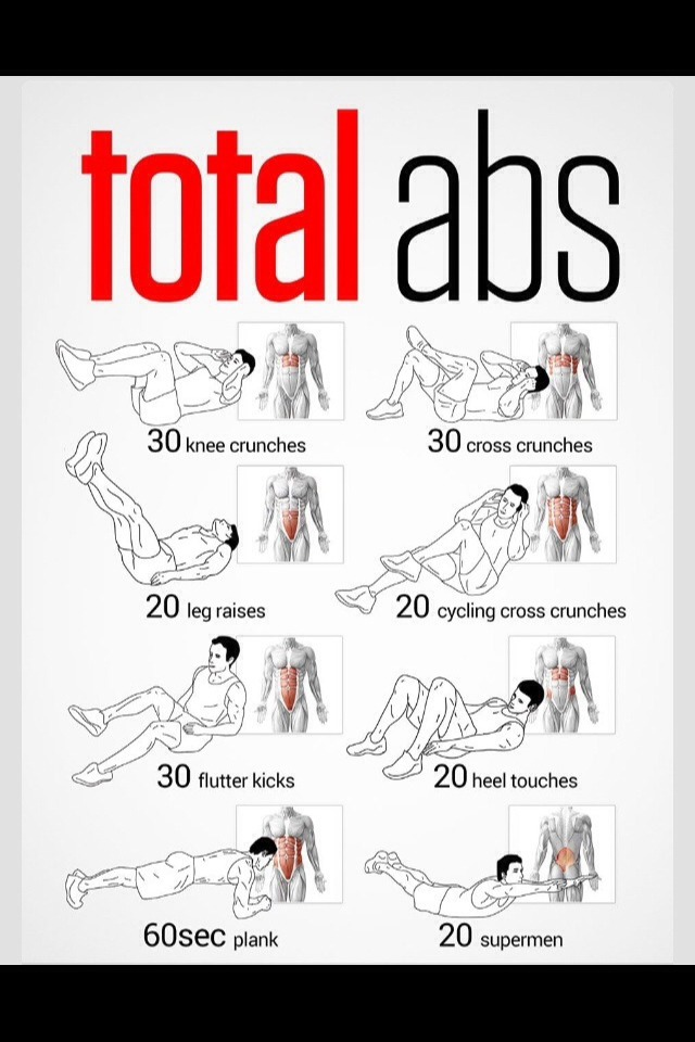 I was doing these workouts at least once a day, they are easy and simple, won't take too much time out of your day and they are very effective! Do them once or twice everyday for results!