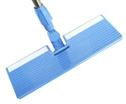 Attach to a dust mop (like a Swiffer) to pick up extra dust.
