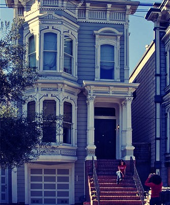 The Full House, House- If you were born in the 80's there is a good chance you've seen Full House. Now youcan visit the house in San Fransico!