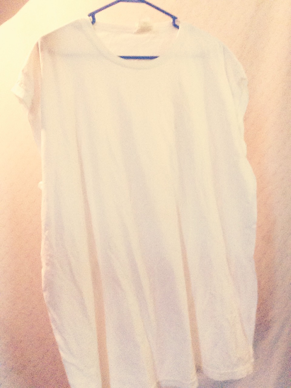 Find an old white Tee shirt.