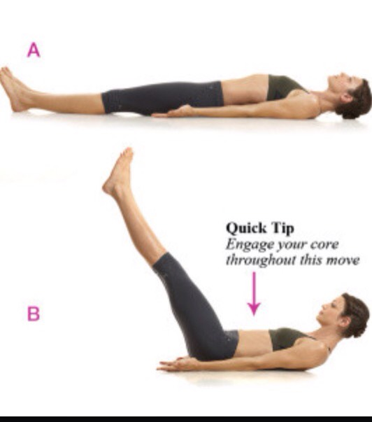 Your core (ab area) is the part the part of your body that you should feel the most burn for all these stretches. If not, try to change it up a bit because your most likely doing it incorrectly.