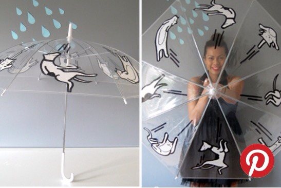 Umbrella  This one is pretty self explanatory; all you need are sharpies and a clear umbrella, goooo... 💕