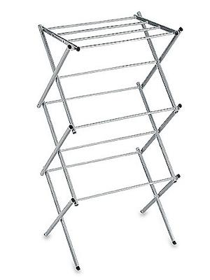 6) Compact Clothes Drying Rack