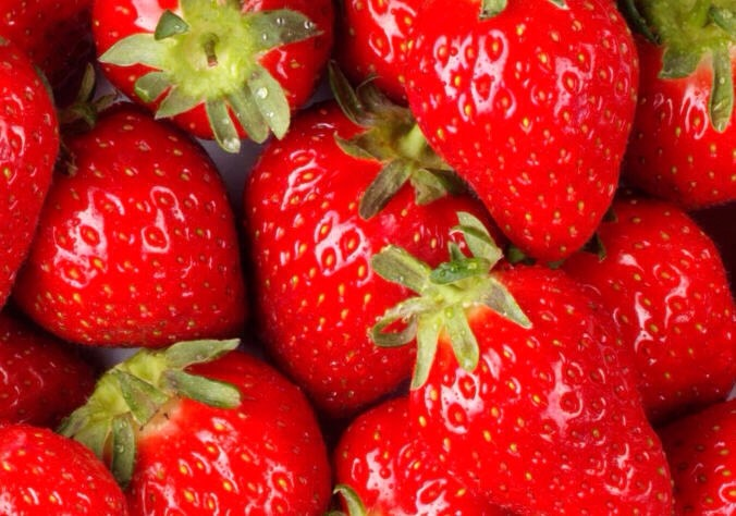 Strawberry are the best it makes your period extremely light just have around 3/4 cut up into halfs