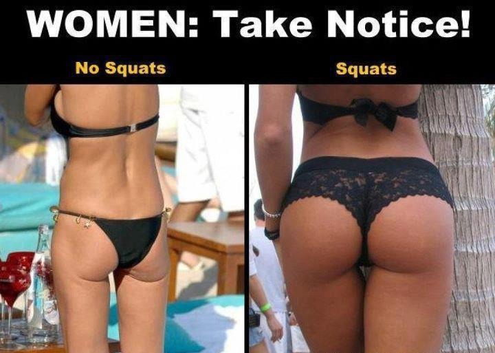 See ladies without squats this is what we look like..😳😁