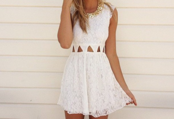 Personally I think White is a beautiful colour to wear in the summer. Not only does it look amazing but it makes you look more tanned than what you are!