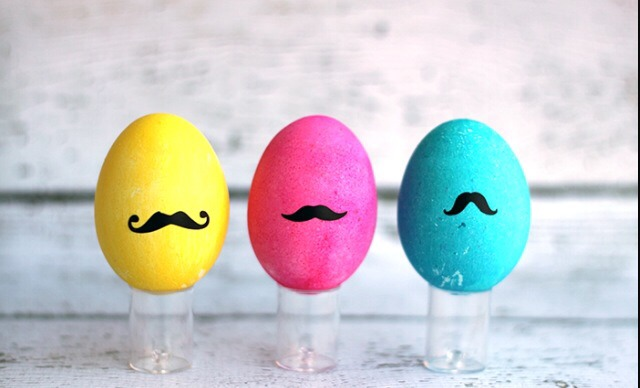 Paint and draw cute moustaches