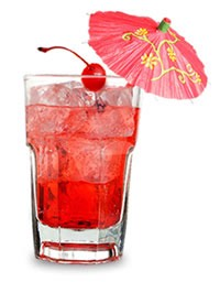 Shirley Temple what to order: 1⃣~orange mango lemonade (strawberry lemonade made with orange mango) 2⃣~blend 3⃣~add 1 pump of raspberry syrup affogato on top