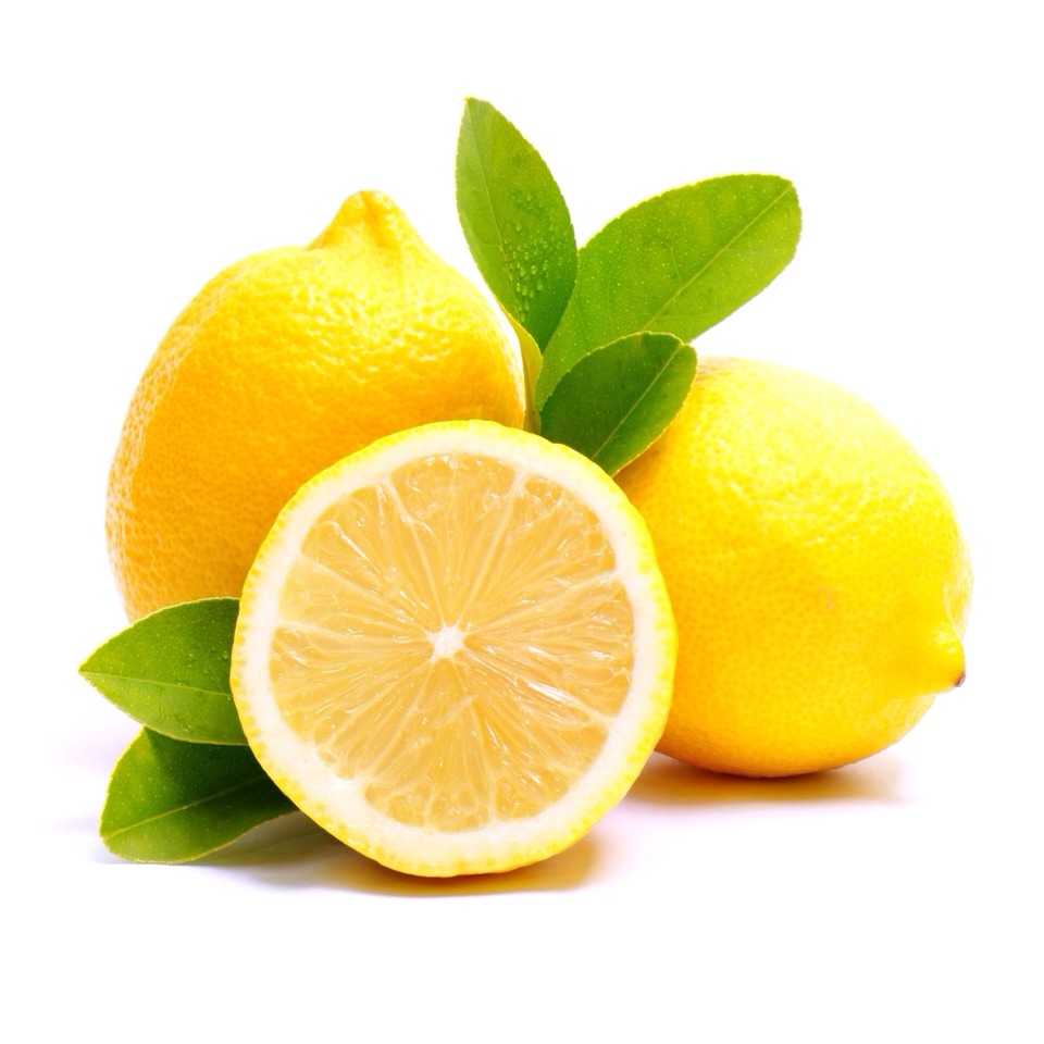 Take a slice of lemon and squeeze into a bowl, measure out one tsp of lemon and add to mixing bowl