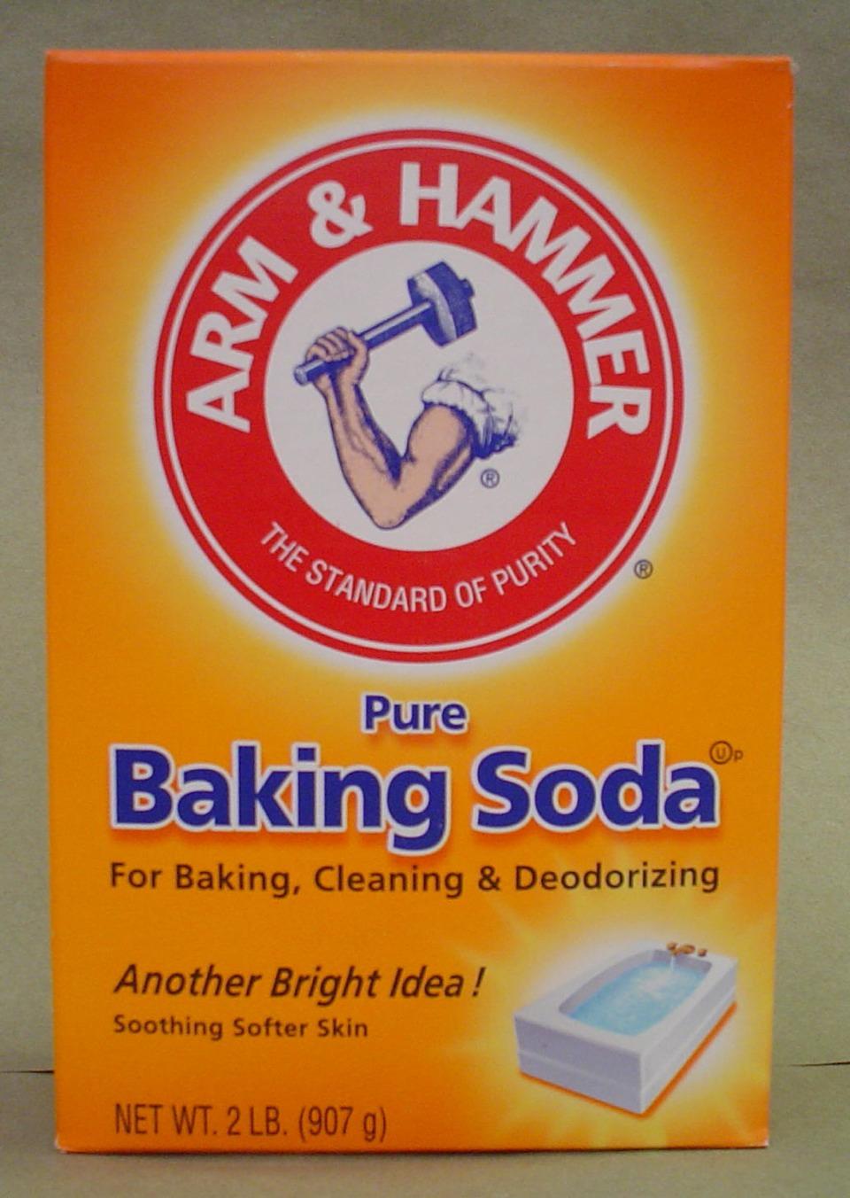 And baking soda.