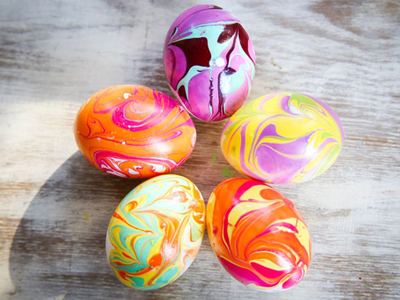 Diy Easter Eggs W Nail Polish By Maddie Johnson Musely