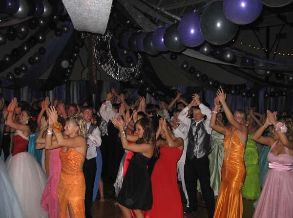 If you're planning on doing a lot of dancing at prom, you'll want to make sure your dress can handle it. If your dress is sleeveless, make sure it has wide straps that fit snuggly on your shoulders and won't pull off, and a strapless dress should have a structured bodice that stays in place. Particularly long dresses or dresses with lots of flowy fabric could get caught on your shoes and trip you or be stepped on by others on the dance floor. Make sure your dress doesn't shift around or drag on the floor before you leave for the dance.