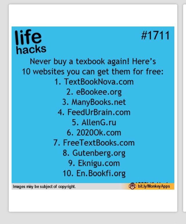 Free textbook websites