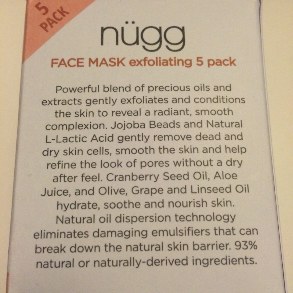 There are so many benefits in this little package! Although the product is more of a scrub than a mask, there are small exfoliating beads inside that give you the most of theexfoliatingfeature