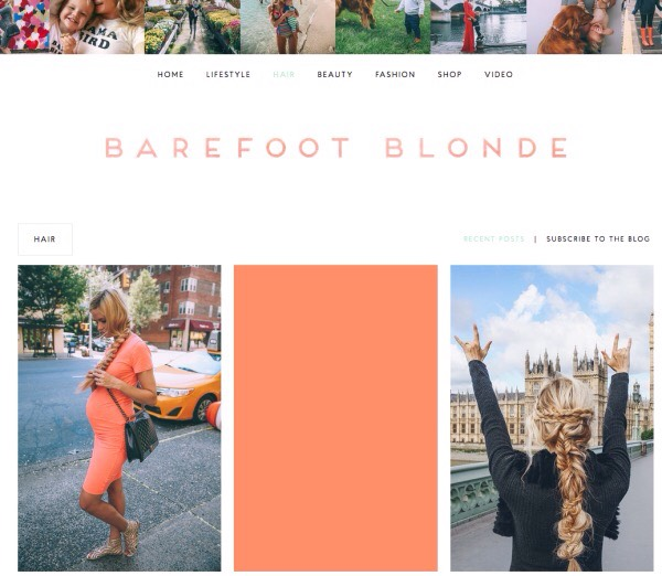 "2️⃣0️⃣ Barefoot Blonde's: ""endless stream of braided hairstyles and intricate updos are a constant source of inspiration."""