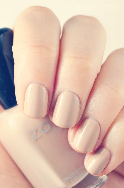 1. First of all, apply a base coat to protect your natural nails.