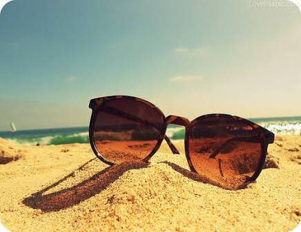 15. Make sure to bring your sunglasses for when the sun comes out or simply for a fashion statement.