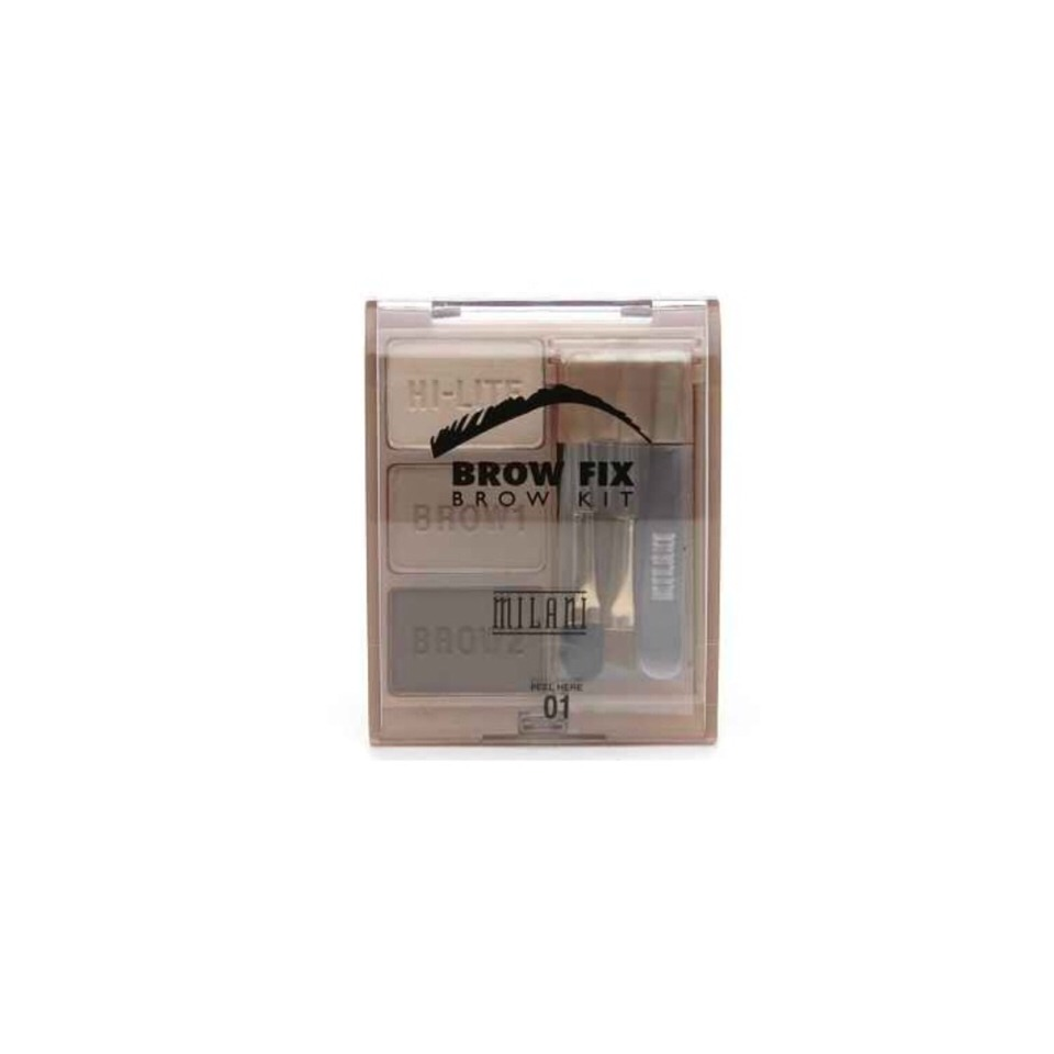 Milani Brow Fix Brow Kit Defined brows. They're a thing. $6.49 at most Drugstores.