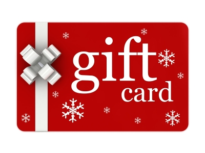 gift card for her favorite shop