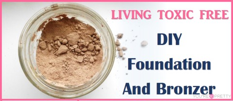 DIY Foundation and Bronzer  http://thehealthyhoneys.com/diy-foundation-bronzer-toxic-free/