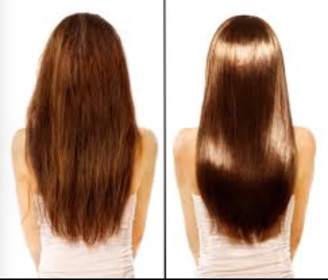 If u put olive oil on your roots it will provide your jair with vitamis and also nurish it. It will make it grow faster and make it look like shiny.