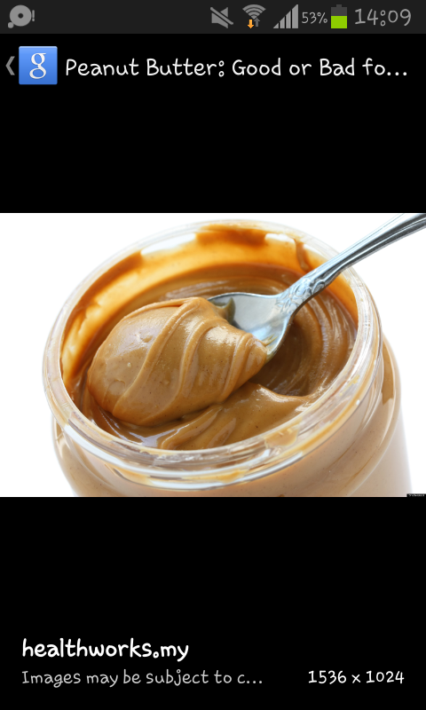 In this case, you should use peanut butter.