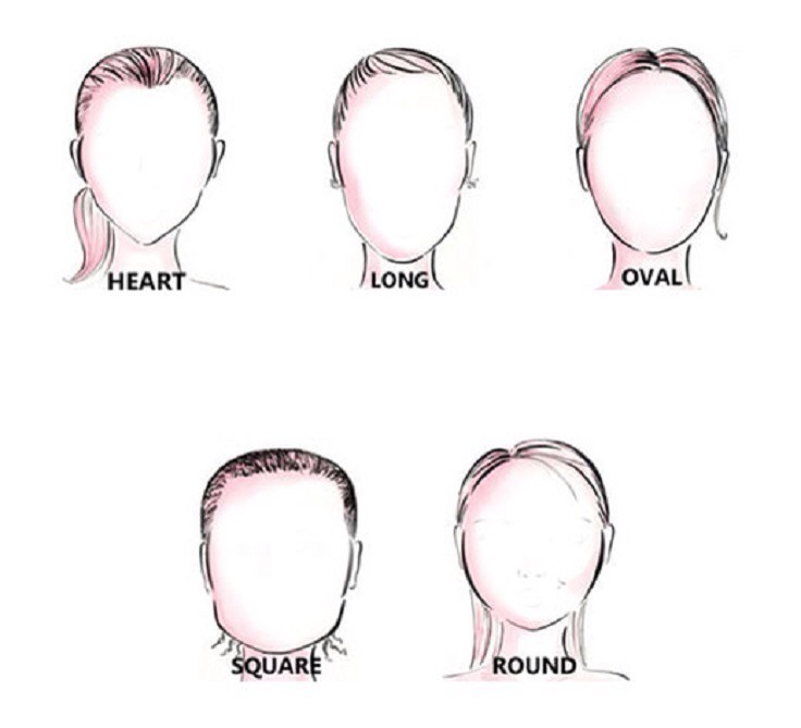 Pick your face shape.