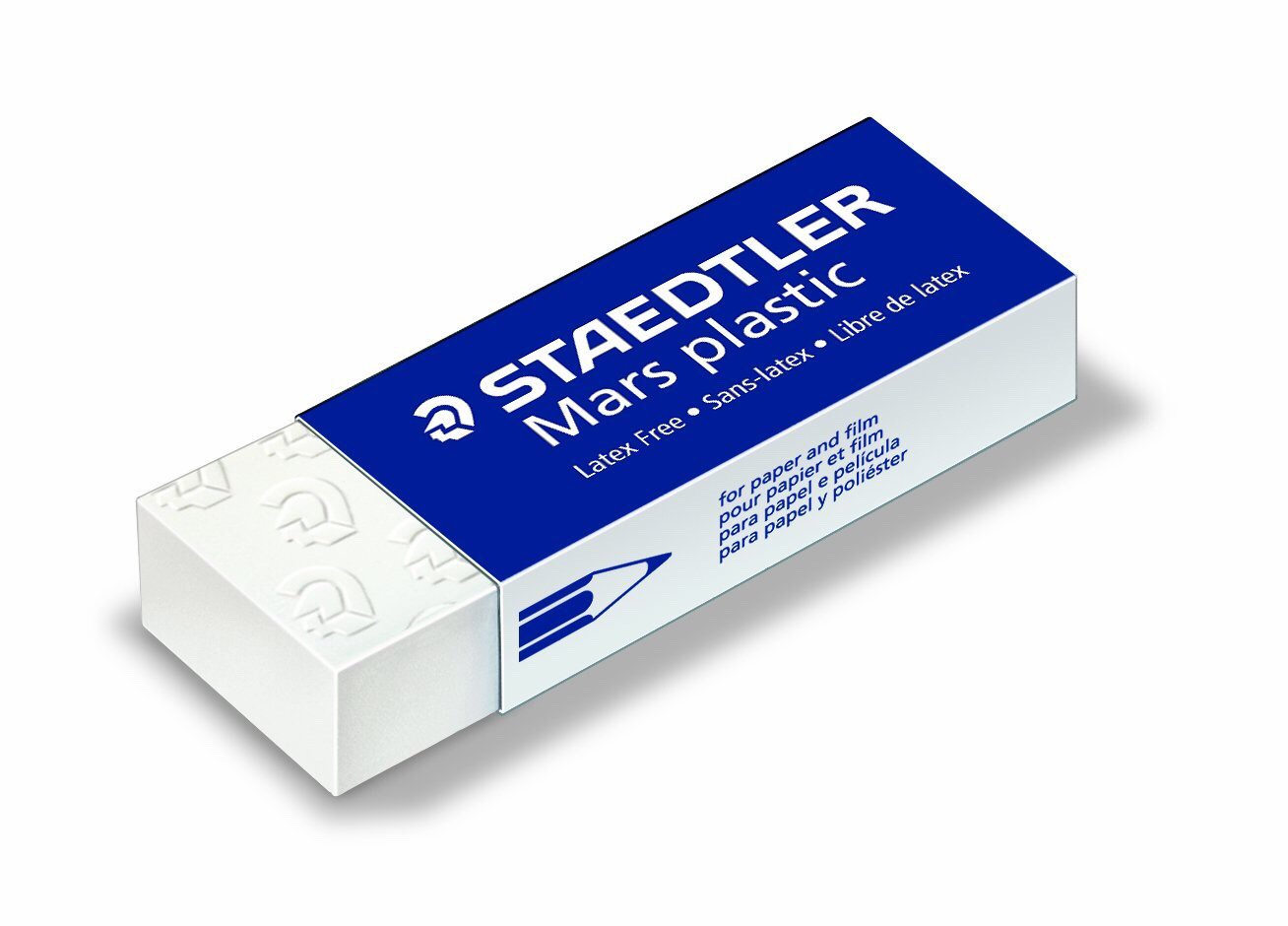 1 eraser (preferably something rubbery and soft, not the hard pink ones)