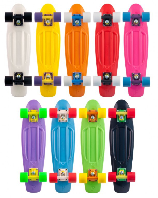 Obviously you will need a skateboard (I suggest penny boards since they come in so many colors and patterns)