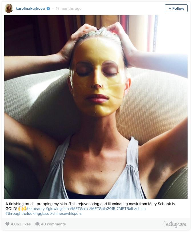 What do Karolina Kurkova, Kim Kardashian, and Kate Hudson have in common? A love of gold mask treatments to get photo-ready skin before red carpet events. Now, you can steal their skincare secret – Musely's Sleeping Beauty Gold Facial masks use 24-karat gold to give you red-carpet-ready glowy, hydrated skin.