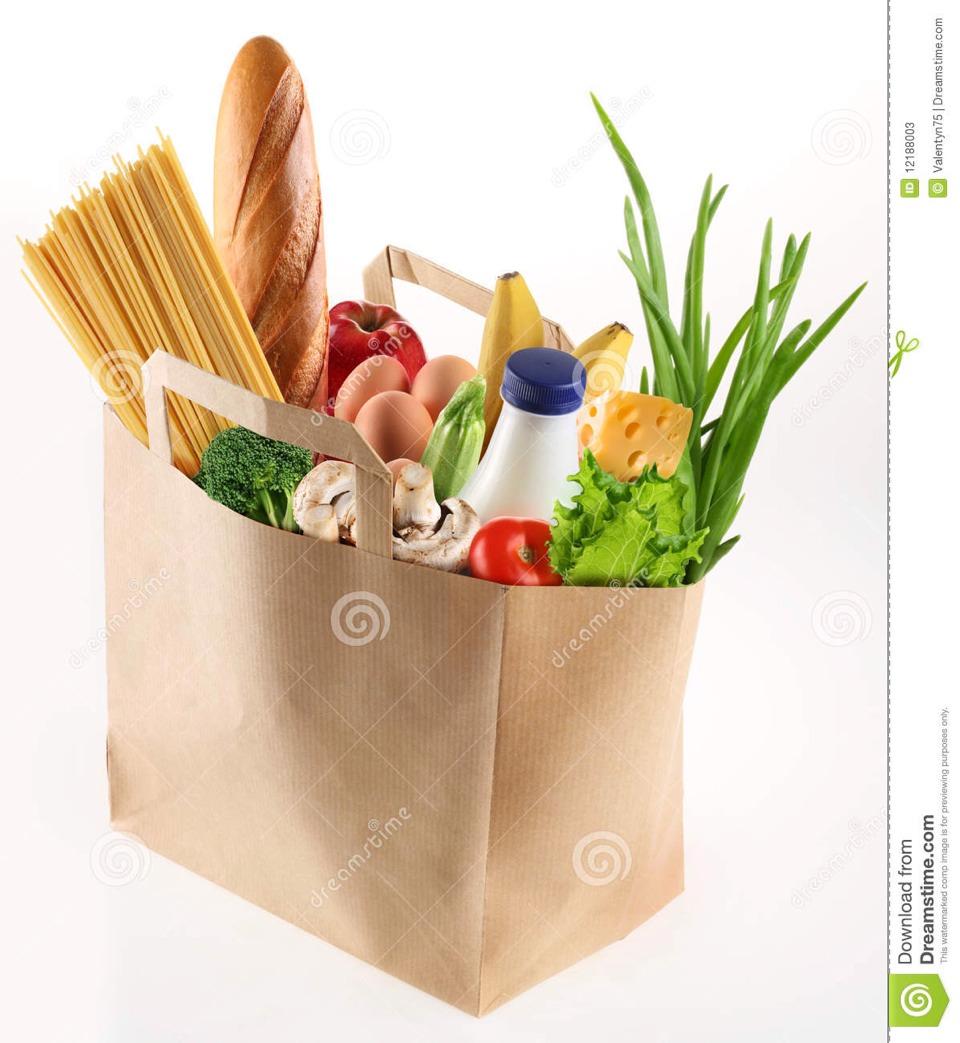 Put ur junk and food in a bag so it is not all around the car