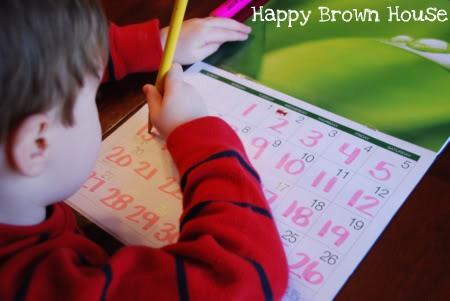 Kids can practise their number writing on it.