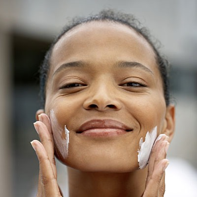 I like to apply a moisturizer before my makeup, if it's a natural oil I also do this before bed, if I decide to use a cream I do this in the morning