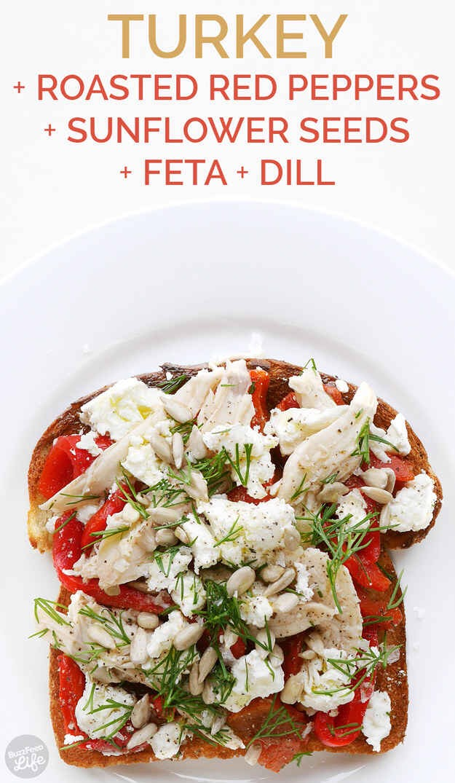 --> Mediterranean Toast