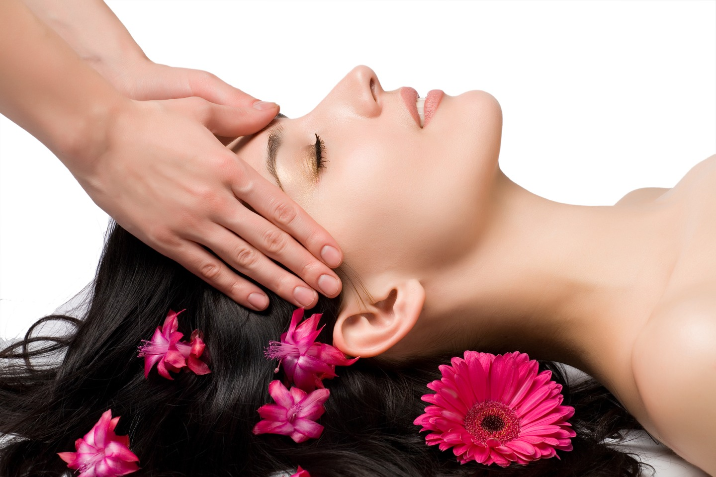 Massage ur hair with the heated oil an keep it in for 2 hours or sleep with it in
