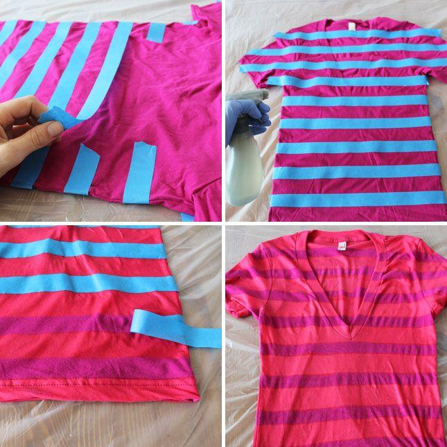 10. Bleached Stripes