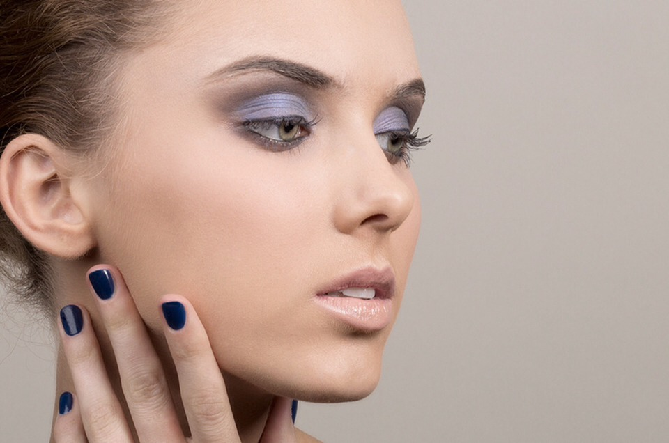 Look #3: With Smokey Lavender Eyes 👉 next page