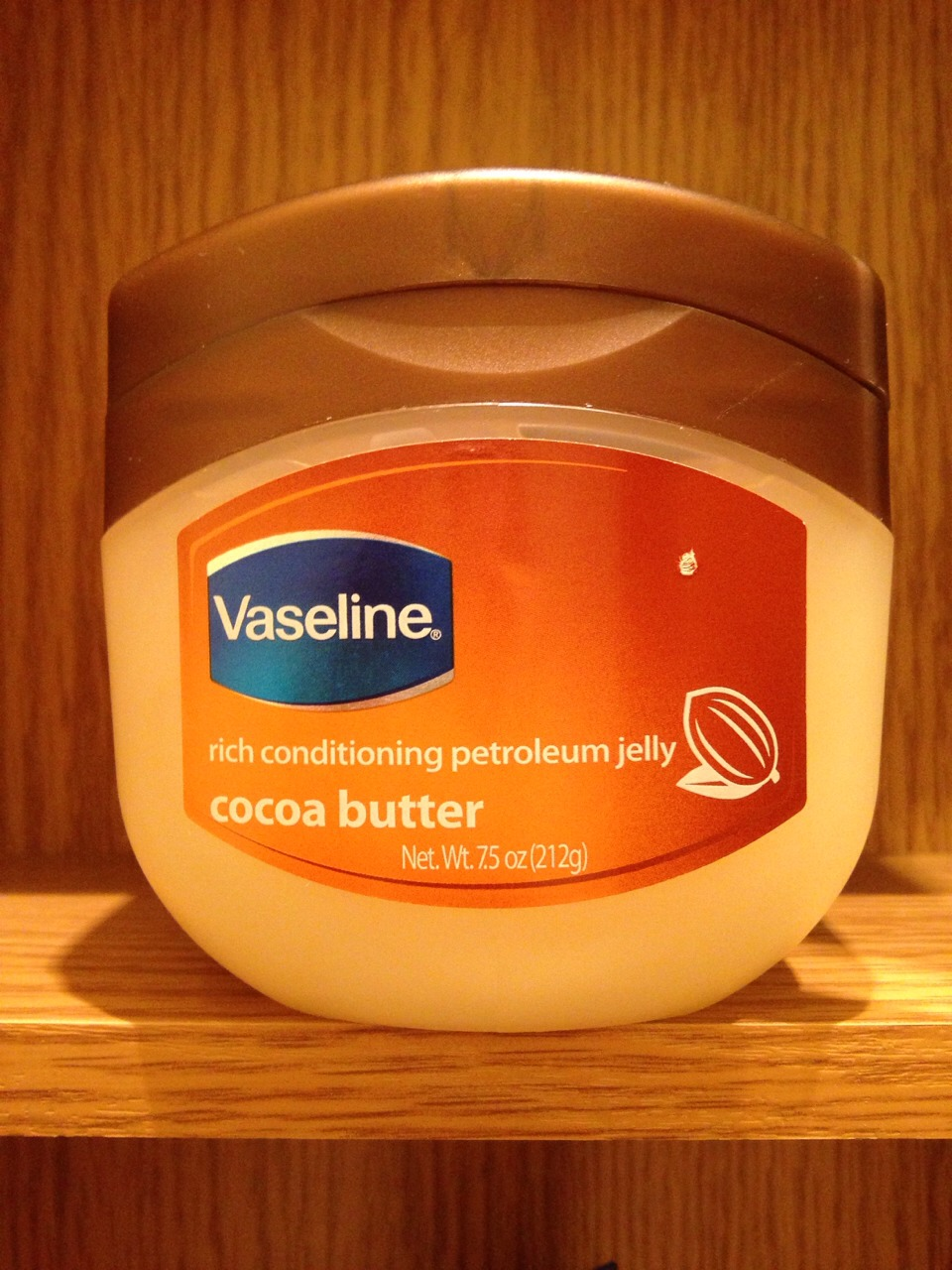 Vaseline makes the same effective product, with a cocoa butter scent! My mom uses it every night on her face after she puts on her lotion. She is 55 with no wrinkles :) it can also be used to make your eyelashes grow, when applied to your eyes at night and to soften the skin on your elbows!