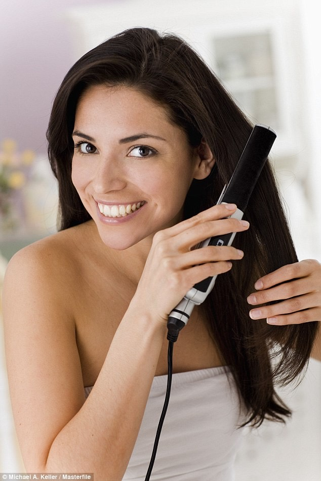 Straightening your hair every day can cause hair to be damaged in split inns not good for your hair. If you're looking for long hair just stop straighten it every day!