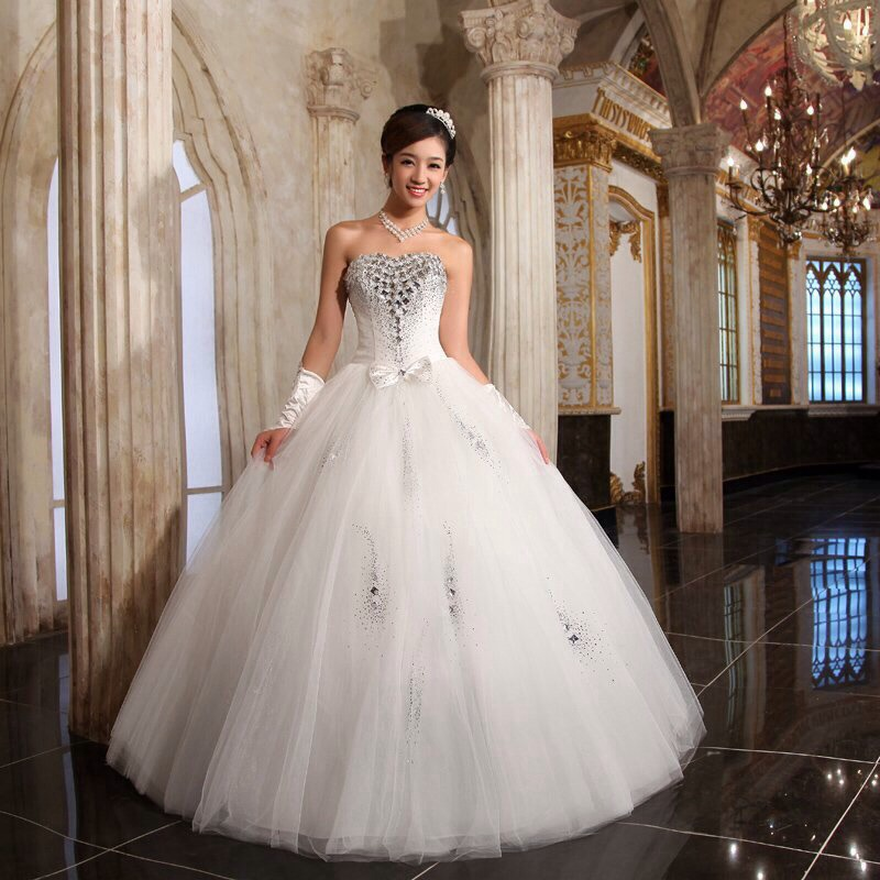 American wedding dress