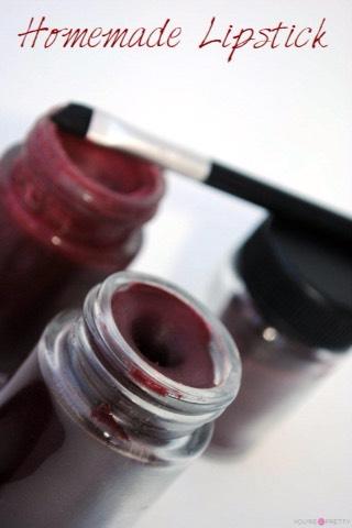 Homemade Red Lipstick  http://www.gingerlymade.com/?s=Red+lipstick+diy